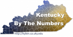 Kentucky By The Numbers Logo 2019